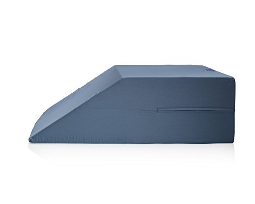 Leg Wedge - Premium Therapeutic Grade Wedge Pillow for Legs by Sleep (Therapeutic Leg Pillow)