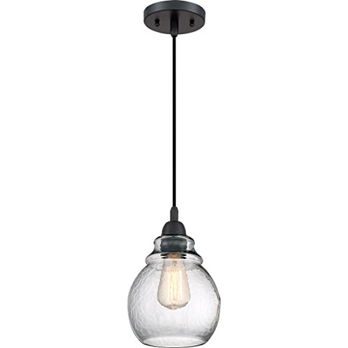 Quoizel One Light Mini Pendant QPP2790K, Small, Mystic Black - Quoizel Piccolo Pendant