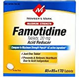 Member's Mark Famotidine - 2/100ct Compare to Pepcid AC Maximum Strength