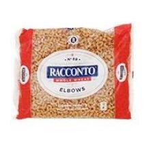 Racconto Whole Wheat Elbow Pasta, 16 Ounce - 12 per case.
