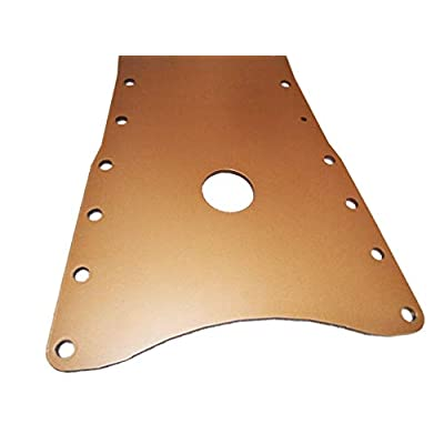 "Aluminum Ceramic Coated Tunnel Plate 5/16"" for Corvette C5/Z06: Automotive"