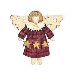 Wallies Wallpaper Cutouts Debbie Mumm Star - Angels Wallpaper Cut Out