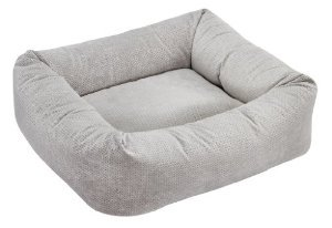 Bowsers Dutchie Bed, Small, Silver Treats