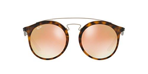 8506c69cc6 Ray-Ban RB4256F Sunglasses Matte Havana   Mirror Gradient Copper 52mm ...