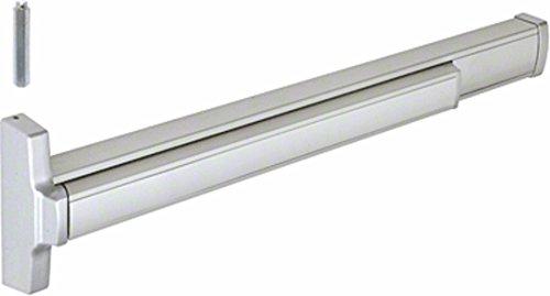 Jackson 312086ELG628 Satin Aluminum Model 2086E Electric Rod Retraction Concealed Vertical Rod Panic Exit Device Left Hand Reverse Bevel Fits 48