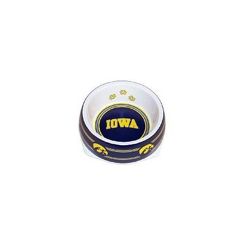 Hunter Iowa Hawkeyes Dog Bowl-Plastic Small