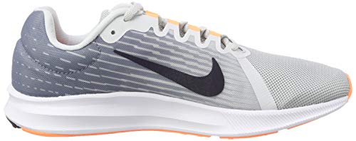 001 8 Femme de Chaussures Fitness WMNS Pure NIKE Grey Multicolore Cool Platinum Hyper Mtlc Pink Downshifter qE4Zxg