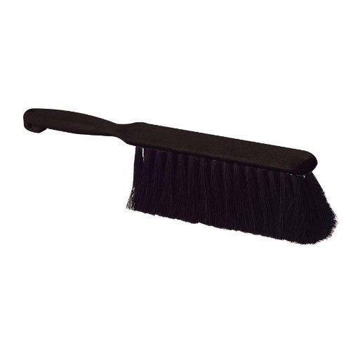 Carlisle Black Tampico Counter Brush, 8 inch -- 1 - Glasses Tampico
