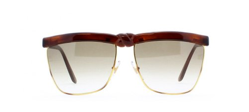 d62b7b34bd Laura Biagiotti P35 49R Gold and Red Authentic Women Vintage Sunglasses at  Amazon Women s Clothing store