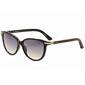 Swarovski Eyewear Edith Sunglasses (Shiny Black)