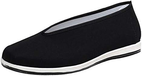 feiXIANG Herren Schuhe   Bootsschuhe   Casual Flache Stoffschuhe Chinesische Traditionelle Freizeitschuhe Slipper Kung Fu Kampfsportschuhe