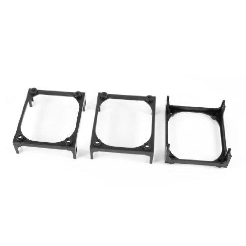 3 Pcs CPU Heatsink Fan Mounting Retention Bracket Black for Socket 478 (Intel Socket 478 Motherboard)