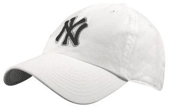 '47 MLB New York Yankees Men's Brand Clean Up Cap, White, One-Size (Accessories Mens Mlb)
