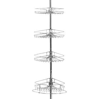 Zenna Home 2132S Organizador de Varilla de Esquinero de Tensión f15537a7642d