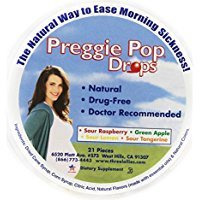 Three Lollies Preggie Pop Drops, 21 Assorted Sour Fruit Lozenges (3-Pack) Please read the details before purchase. There is no doubt the 24-hour contacts.