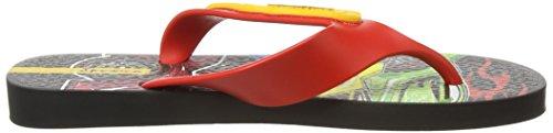 Ipanema Hot Wheels Tyres, Sandalias Flip-Flop para Hombre Red (Red)