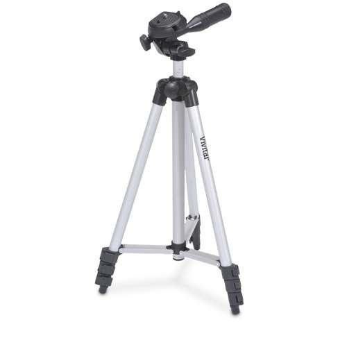 50'' Pro Photo/Video Tripod With Case for Sony HDR-SR10 HDR-SR11 by - Pro Series