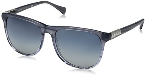 Ralph Lauren Sunglasses Women's 0ra5224 Square, Blue Horn Gradient/ Blue, 58 - Glasses Blue Lauren Ralph