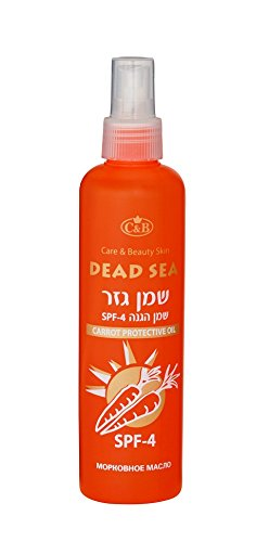 Protective Oil SPF-4 - carrot 250ml/8oz Dead Sea Minerals DSM C&B
