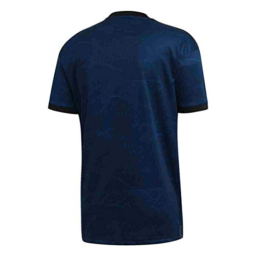 Real Madrid Soccer Jersey 2019-2020 Away Mens Jersey Blue (M)
