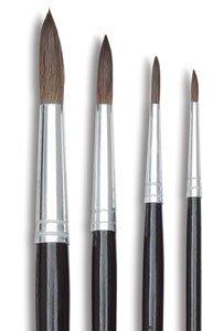 Binney & Smith Crayola(R) Better Quality Watercolor Brush Series 1121, 3, Hair Length 1/2