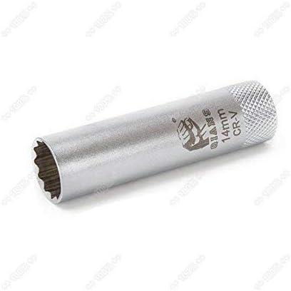 Fresh66 Zündkerzenschlüssel 14mm Zündkerzen Steck Nuss Steckschlüssel Baumarkt