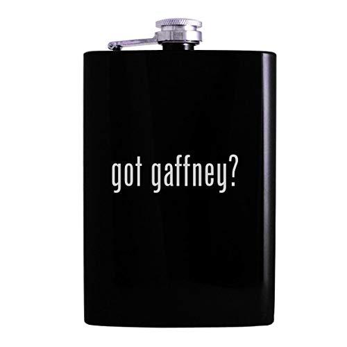 got gaffney? - 8oz Hip Alcohol Drinking Flask, Black
