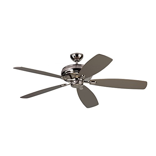 Monte Carlo Polished Ceiling Fan - Monte Carlo Fans 5EM60PN Embassy Max - 60