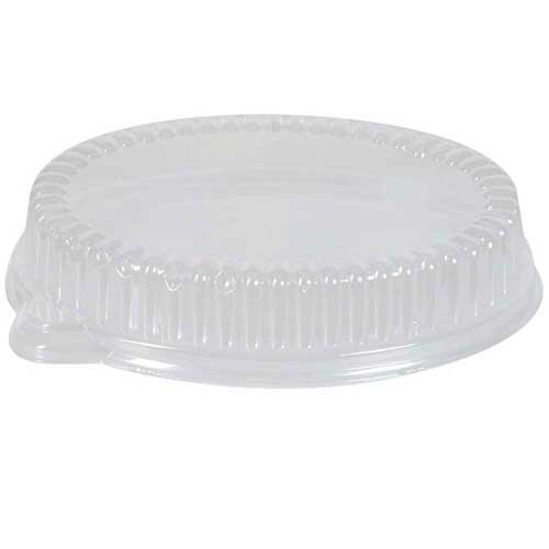 Dixie Dome Lid fits 9 x 11 inch Paper Platters Clear -- 200 per case.