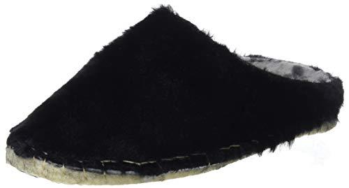Isasa76 Donna Eu Macarena New Pantofole Schwarz am Negro 37 1wanaqd