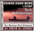 Stop Toxic Relationships Self-Hypnosis CD (Audio)