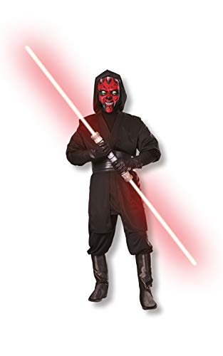 Star Wars Deluxe Adult Darth Maul Costume,Black,Large]()