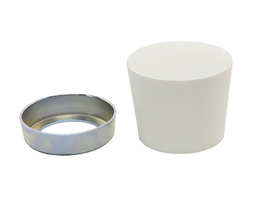 (POWERNAIL White Rubber Mallet Cap Replacement Assembly (includes steel ring and rubber cap))