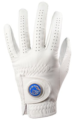 - Boise State Broncos Golf Glove & Ball Marker - Left Hand - Medium/Large