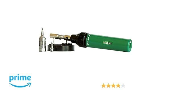 Salki mt-150 k - Soldador gas mt-150 k: Amazon.es: Bricolaje y herramientas