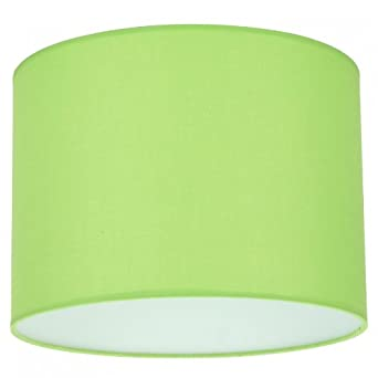 Drum Shade Colour: Lime: Amazon.co.uk: Lighting