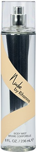 Rihanna Nude Body Mist Spray for Women 8 oz (Pack of 2) ()