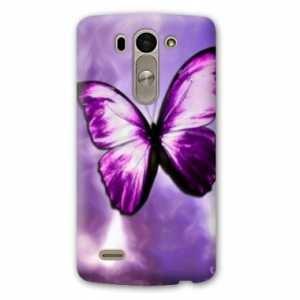 Amazon.com: Case Carcasa LG K10 papillons - - violet et ...
