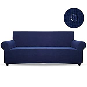 HALOVIE Housse de Canapé d'angle Extensible Imperméable Epaissie Protection du Sofa Universelle Revêtement de Canapé…