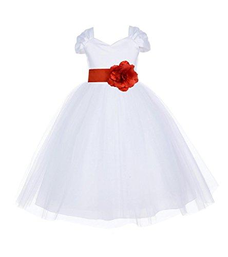 Buy beautiful short sleeve wedding dresses - 6