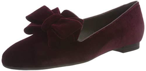 Para De Peter Cerrada Punta Kaiser Mujer Velvo Rojo Con Tacón Blanka Glove cabernet 839 Zapatos Fw8AxFr