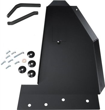 Rock Hard 4x4 Oil Pan / Transmission Skid Plate - Long Arm Suspension for Jeep Wrangler JK 2/4DR 2007 - 2017