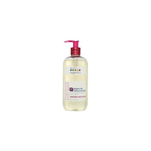 Nature's Baby Organics Shampoo & Körperwäsche, Lavendel Kamille, 16 oz - Babys, Kinder, Erwachsene! feuchtigkeitsspendend, weich, sanft, reich, hypoallergen