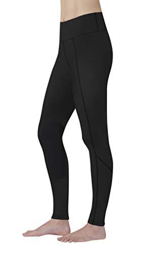 Kerrits Kids Fleece Lite Riding Tight Black Size: Medium