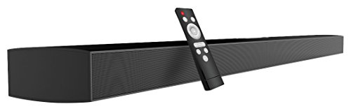 Sound Bar, Meidong Soundbar for TV 43-inch 72 Watt 12 Speakers 8 bass boost radiator Bluetooth Speakers Wired and Wireless Surround Stereo Audio for Flat Screen TV - Flat Speaker Wall Screen
