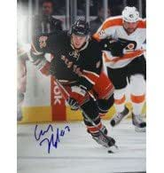 Signed Hagelin, Carl (New York Rangers) 11x14 Photo autographed