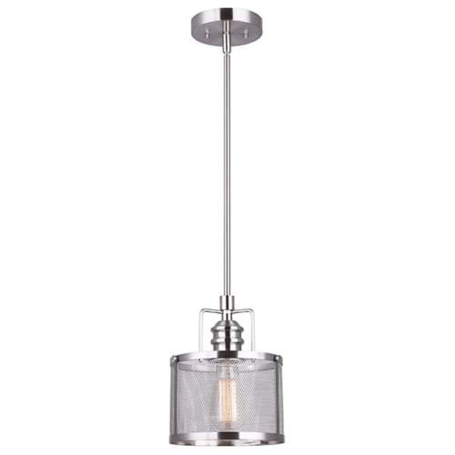 Steel Mesh Pendant Light