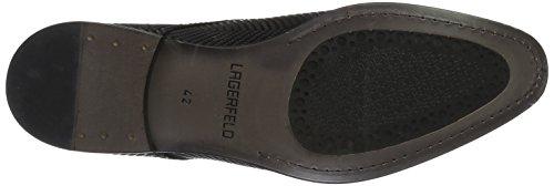 Karl Lagerfeld Seth, Zapatos de Cordones Derby para Hombre Schwarz (Schwarz)
