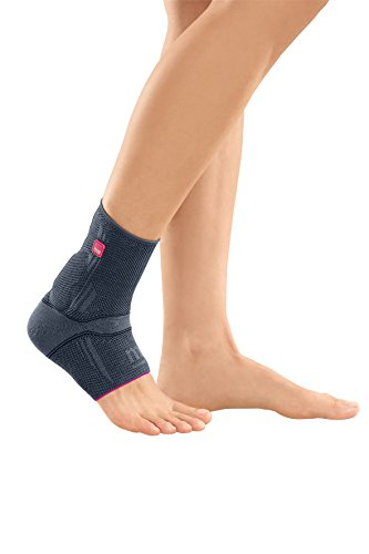 Medi Achimed Knit Ankle Support for Men & Women (Silver) Size IV