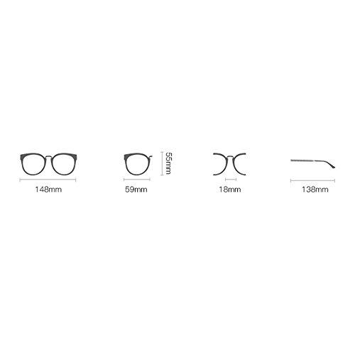 sol el Gafas de sol UV Miopía viajes con párrafo al señora Protección conducción libre de marea Espejo Gafas Espejo Gafas compras Gafas rectángulo de coreana sol 04 de Estrella G versión playa de aire de 77qwrZxnP